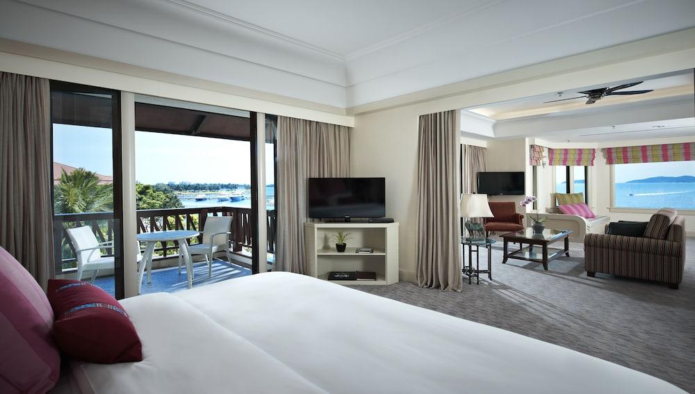 麥哲倫絲綢度假村, 亞庇, Magellan Club Suite , 客房