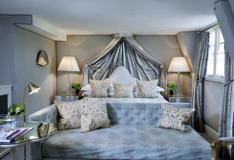 The Milestone Hotel, London, Deluxe-Zimmer, 1King-Bett, Wohnbereich