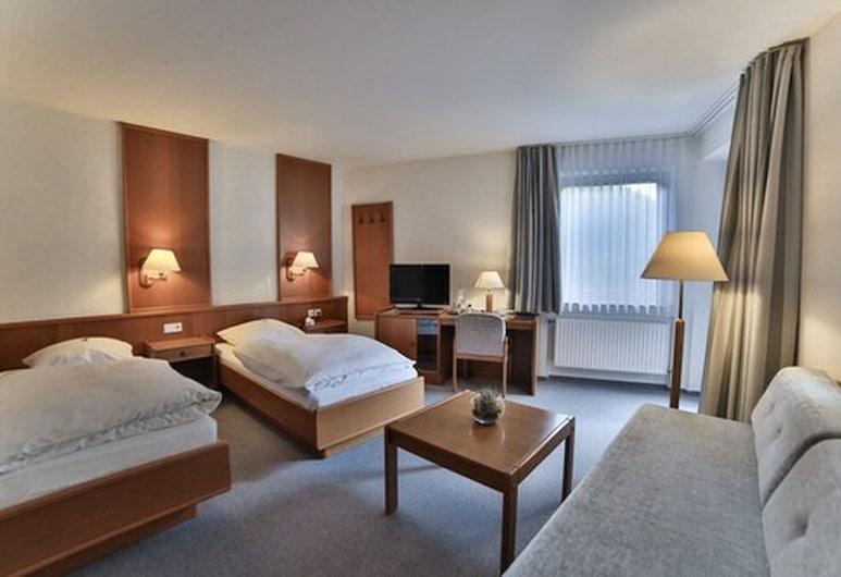AKZENT Hotel Thiemann  Zur Jägerklause, Ganderkesee, Comfort-herbergi með tvíbreiðu rúmi ((3 Stars)), Herbergi