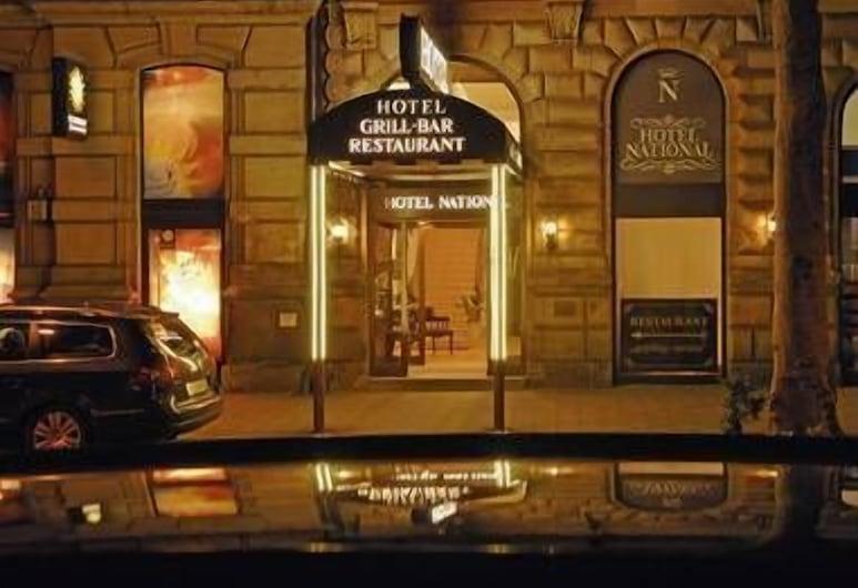 Hotel National, Bamberg, Hotellets front – kveld/natt