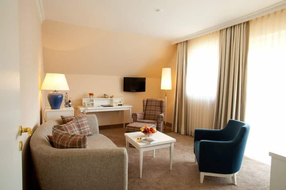 Suite - 1 soveværelse - ikke-ryger - Opholdsområde