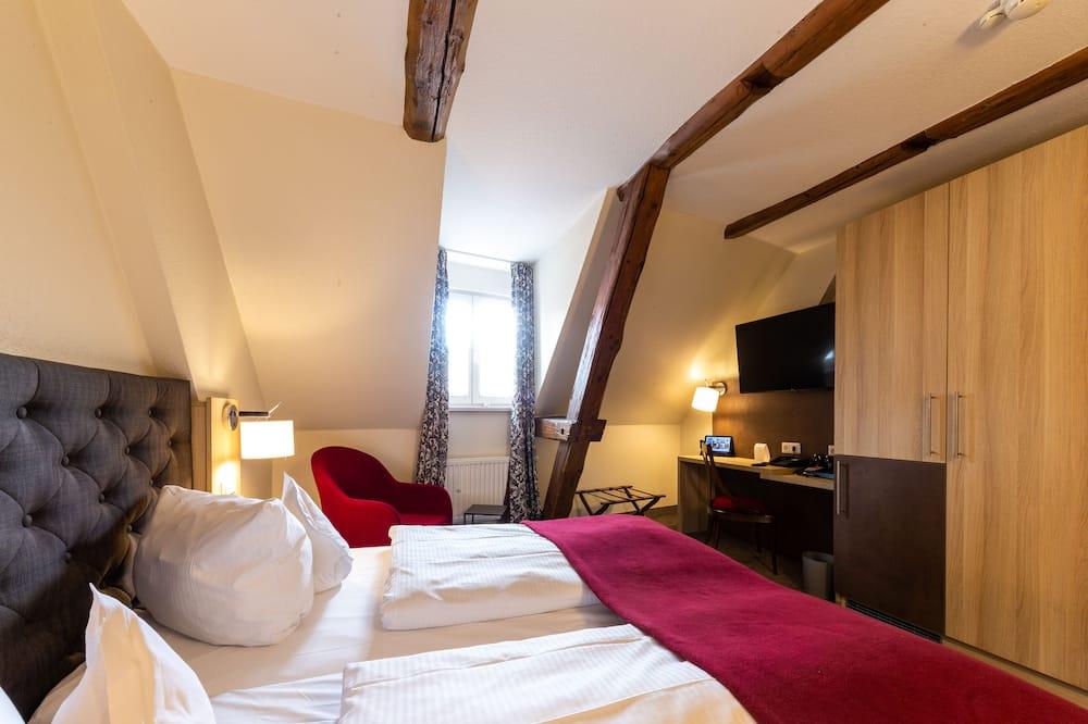 Chambre Classique, 1 lit double - Coin séjour