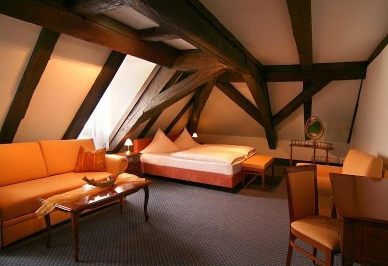 Altstadthotel Arch, Regensburg, Dreibettzimmer, Zimmer