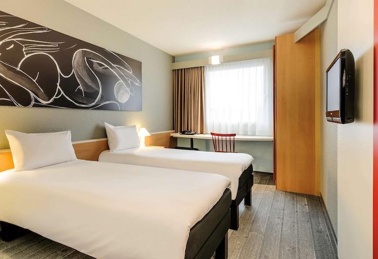 ibis Hamburg Alsterring, Hamburgas, Standartinio tipo dvivietis kambarys (2 viengulės lovos), 2 viengulės lovos, Svečių kambarys