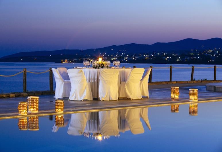 Poseidon of Paros, Paros, Outdoor Pool
