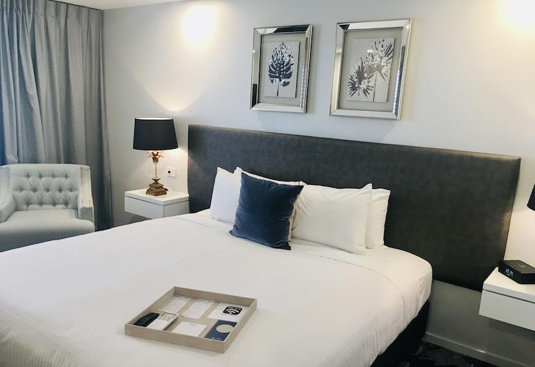 كينجسفورد سميث موتل, هاميلتون, غرفة ديلوكس - سرير ملكي - لغير المدخنين (Spa), غرفة نزلاء