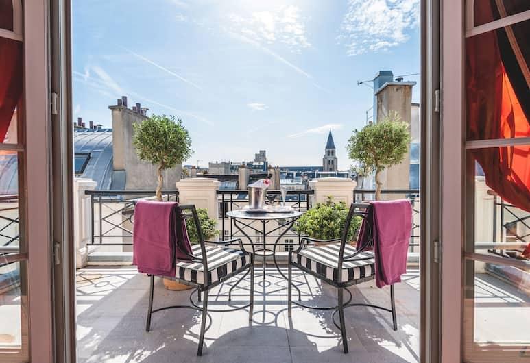 L 酒店, 巴黎, 豪華雙人或雙床房, 外觀
