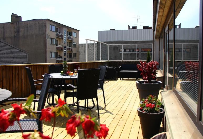 Thon Hotel Kristiansand, Kristiansand, Terrasse/veranda