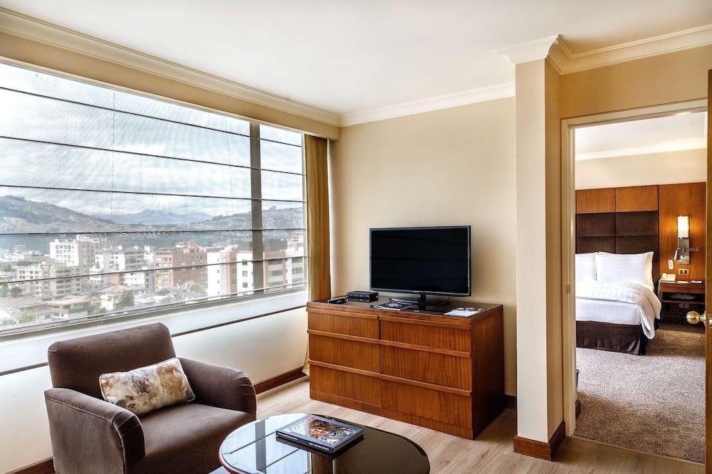 Swiss, Представительский номер, 1 двуспальная кровать «Кинг-сайз» - Номер