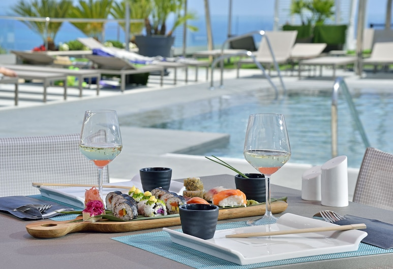 Melia Costa Del Sol, Torremolinos, Zwembad op dak