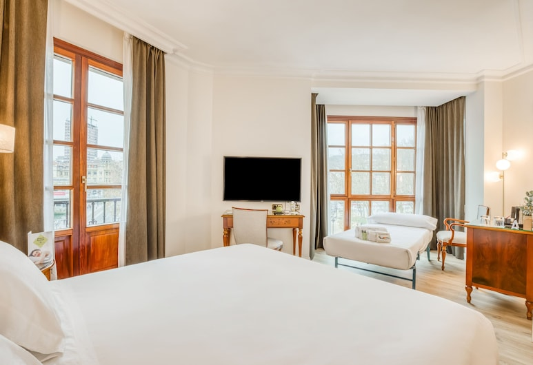 Sercotel Arenal Bilbao, Bilbao, Superior Double Room, Guest Room