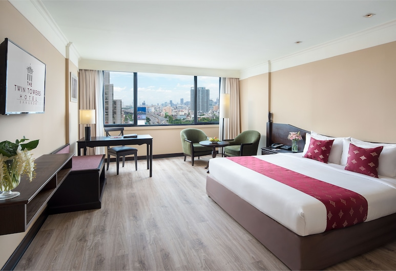트윈 타워스 호텔, 방콕, 이그제큐티브룸, 객실