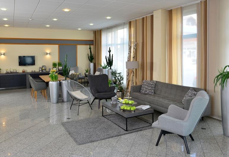 Hotel Residenz Oberhausen, Oberhausen, Sala de estar en el lobby