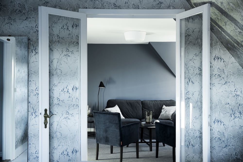Suite exclusiva, 1 cama King size con sofá cama, balcón - Sala de estar