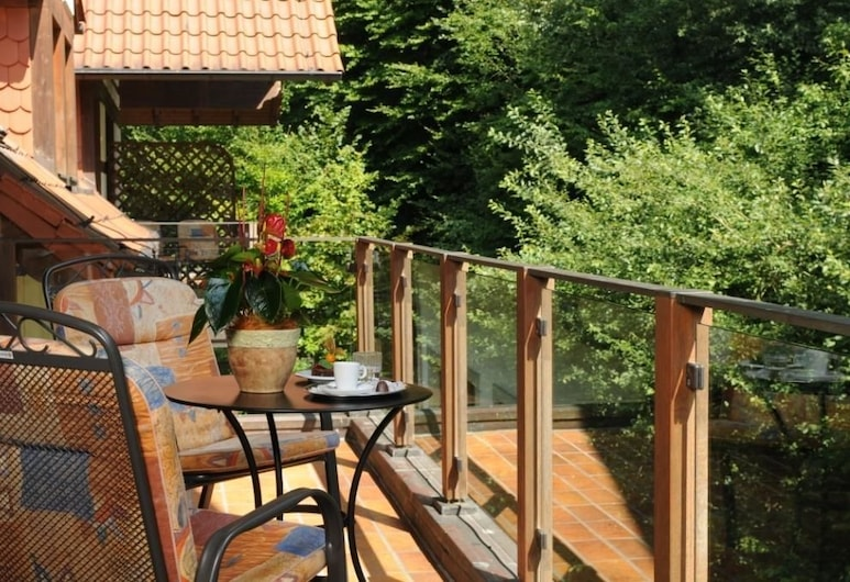 Ringhotel Der Waldkater, Rinteln, Doppelzimmer, Balkon, Balkon