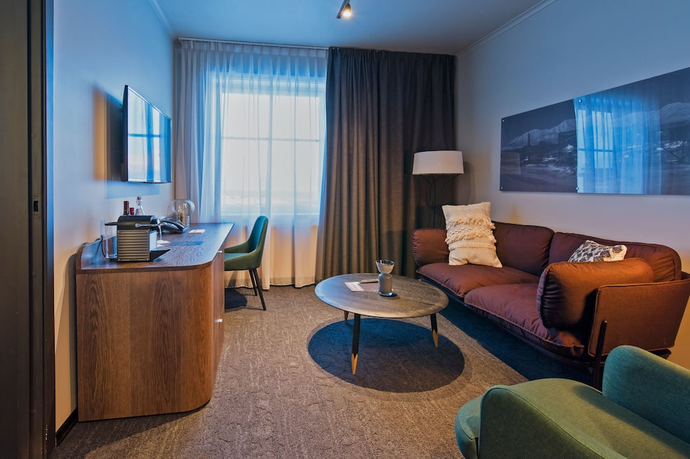Studio Suite, 1 Double Bed, Mountain View - Living Room