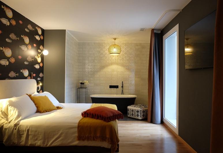 Hotel Luise, Riva del Garda, Pokój dwuosobowy typu Deluxe, Pokój