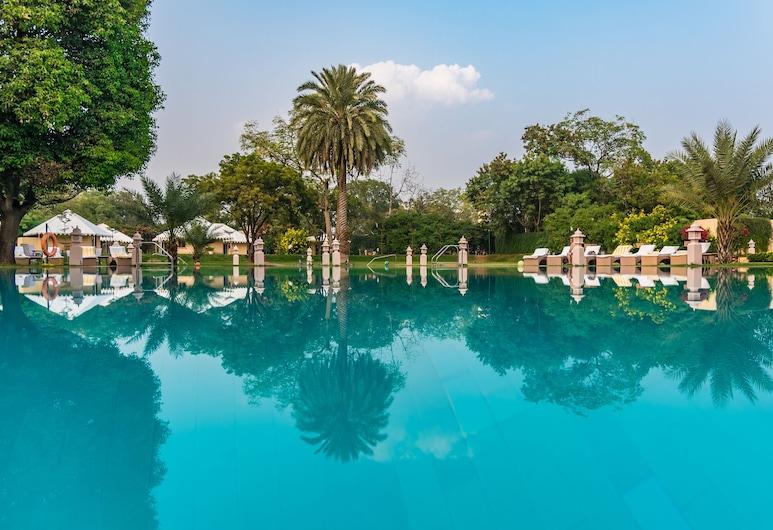 賈瑪哈爾皇宮飯店, 齋浦爾, 室外游泳池