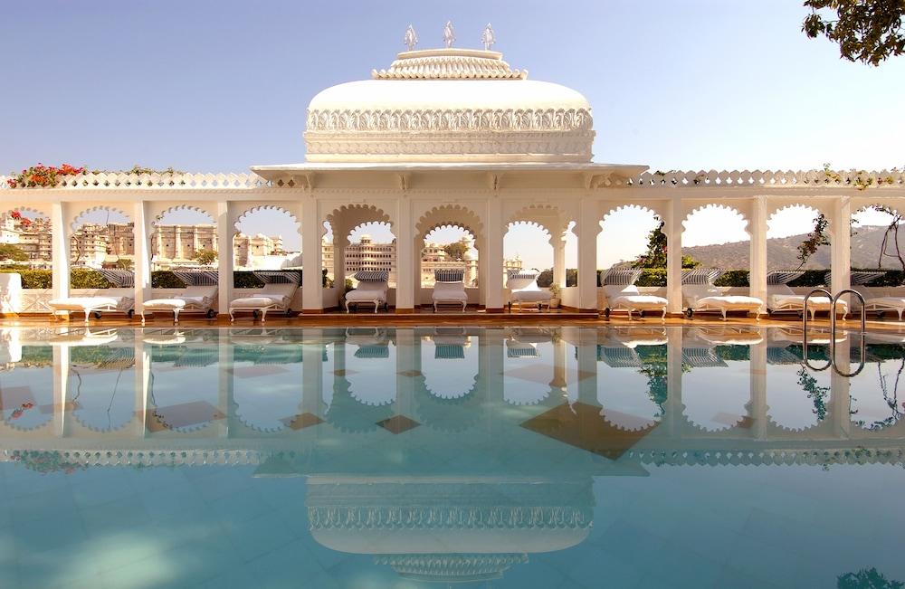 Taj Lake Palace, Udaipur, Utendørsbasseng