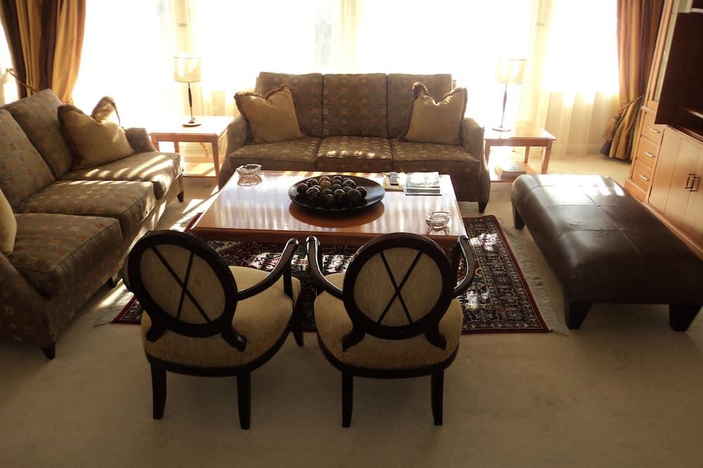 Apartament prezydencki typu Suite, Wiele łóżek, widok na miasto - Powierzchnia mieszkalna