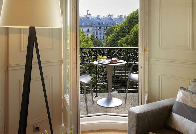 La Clef Louvre Paris by The Crest Collection, Paris, Suite – royal, Balkong