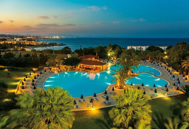 Kresten Palace Hotel, Rhodos, Vaade õhust