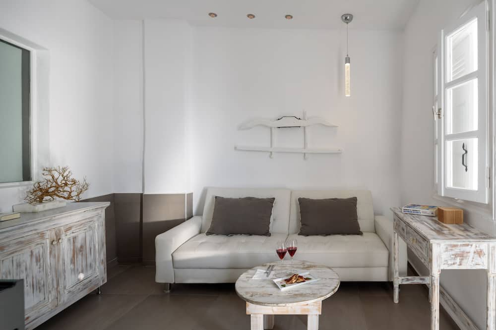 Two Bedroom Suite, Terrace, Sea View - Living Area