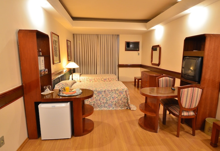 Hotel Gran Corona, São Paulo, Pokoj Deluxe s dvojlůžkem, dvojlůžko, Pokoj