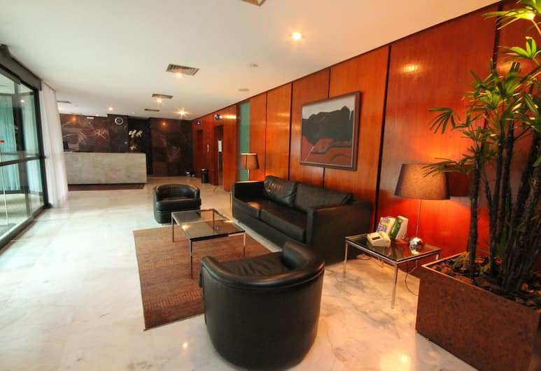 Promenade Champagnat, Belo Horizonte, Sitzecke in der Lobby