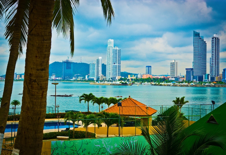 Plaza Paitilla Inn Hotel, Panama-Stadt, Blick vom Hotel