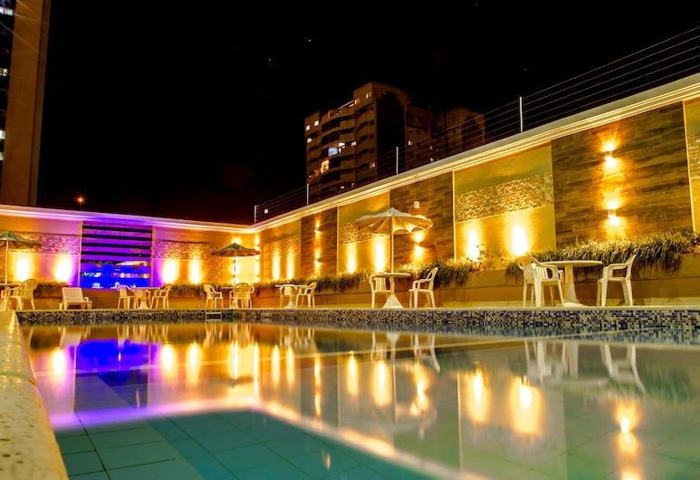 Hotel Rafain Centro, Foz de Iguazú, Piscina al aire libre