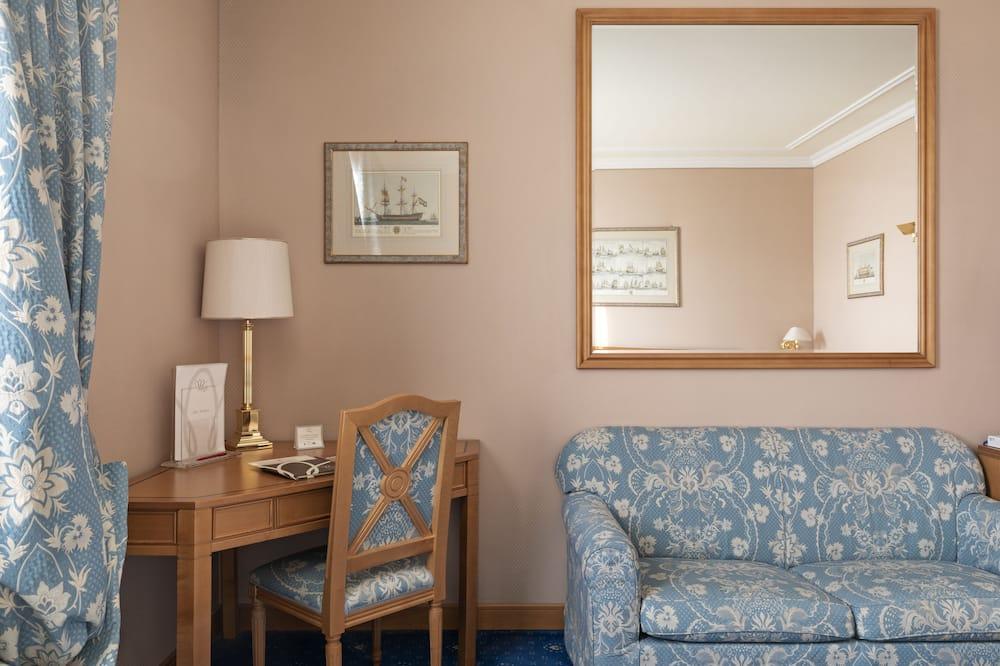 Classic twin room - 거실 공간
