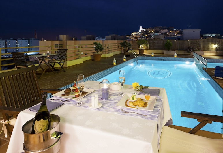 Hotel Royal Plaza, Ibiza Town, Tetőteraszi medence
