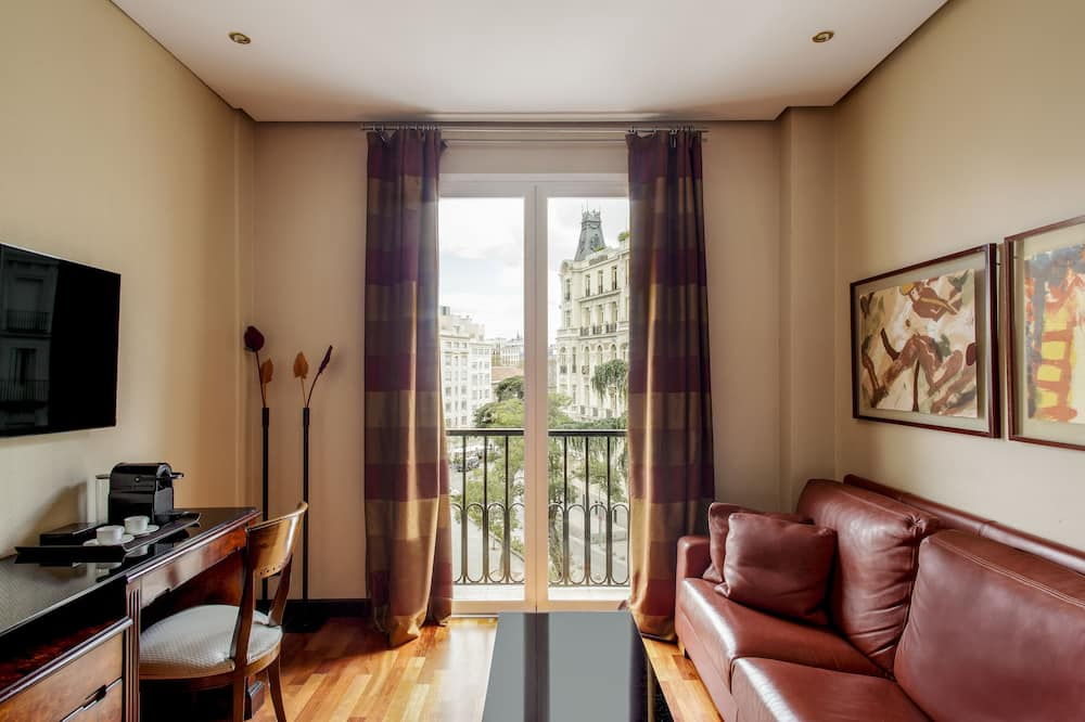 Superior Double or Twin Room, City View - Living Area