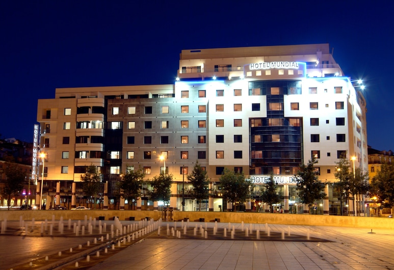Hotel Mundial, Lisboa, Parte delantera del hotel