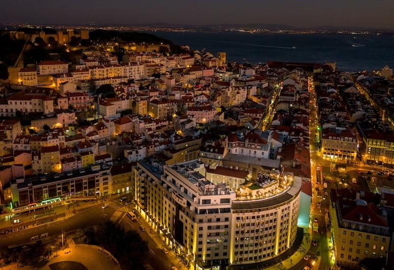 Hotel Mundial, Lissabon, Utsikt från luften