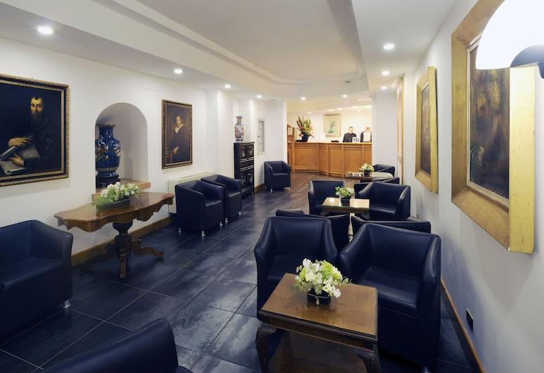 Caprice Hotel, Rome, Lobby Sitting Area