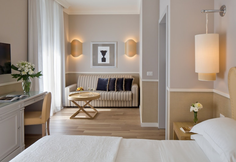 Starhotels Terminus, Neapol, Pokoj, propojené pokoje, Pokoj