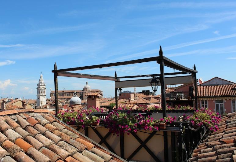 Colombina Hotel, Venice, Terrace/Patio