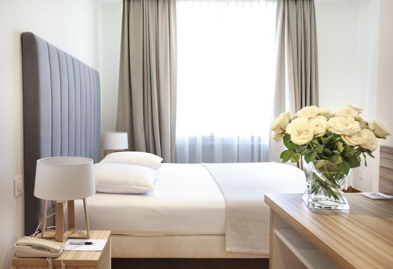 Hotel Suisse, Genève, Standard dubbelrum för 1 person, Utsikt från gästrum