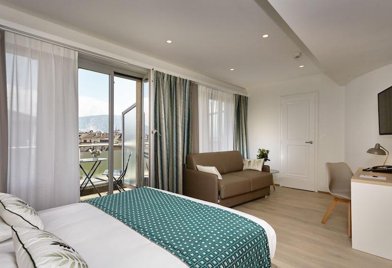 Hotel Suisse, Genève, Rom – superior, Gjesterom