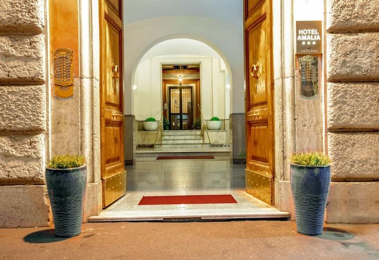 Amalia Vaticano Hotel, Rome, Interior Entrance
