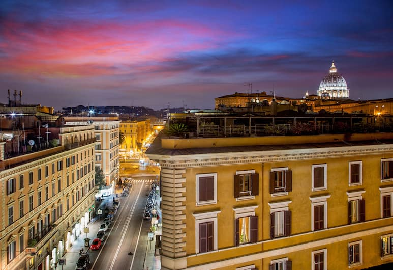 Amalia Vaticano Hotel, Rom, Udsigt fra hotellet