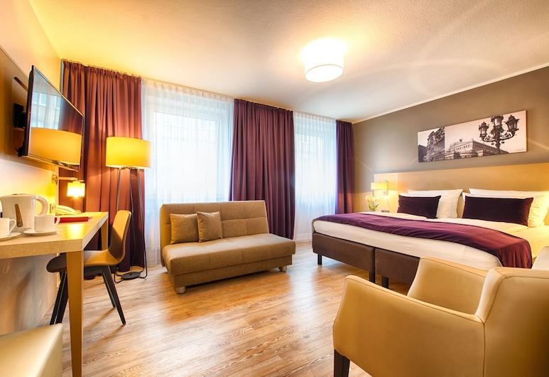 Leonardo Hotel Frankfurt City Center, Frankfurt, Comfort Üç Kişilik Oda, Oda