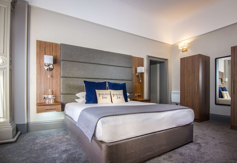 The Yorkshire Hotel, BW Premier Collection by Best Western, Harrogate, King Room with Balcony, Guest Room