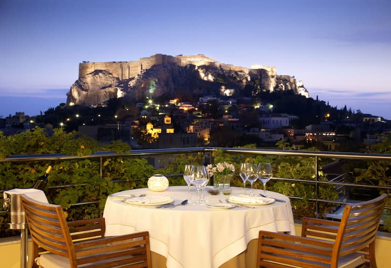 Electra Palace Athens, Athen, Blick vom Hotel