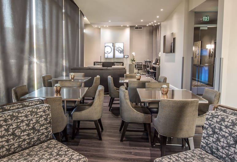Elan Hotel Los Angeles - a Greystone Hotel, Los Angeles, Zitruimte lobby