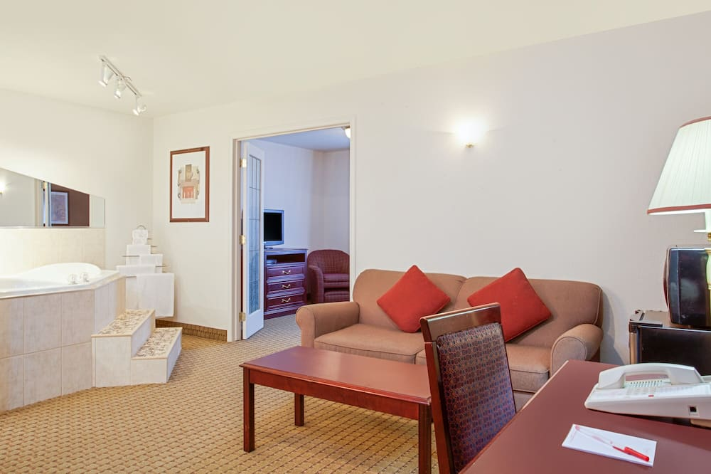 Apartament typu Executive Suite, Łóżko king, dla niepalących, jacuzzi - Salon