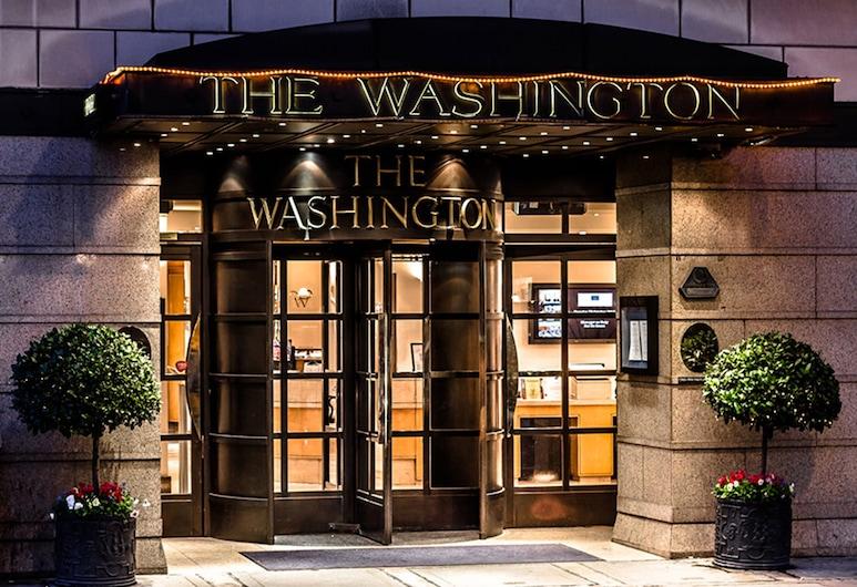 華盛頓梅費爾酒店, 倫敦, 酒店入口