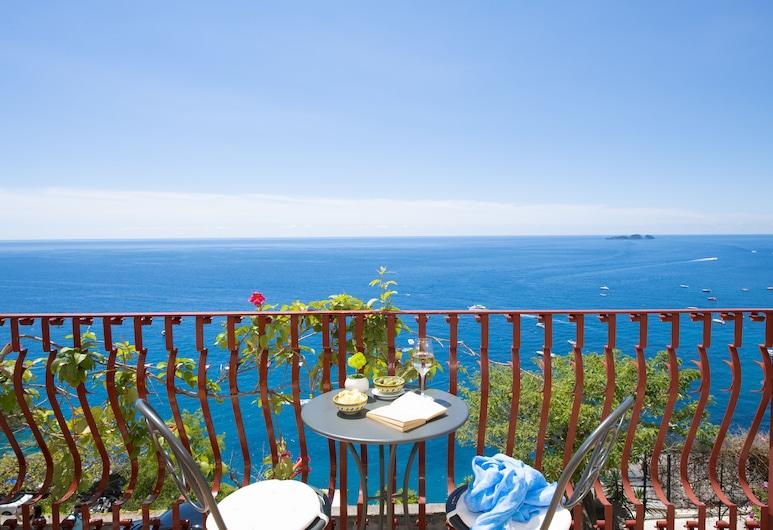 Hotel Eden Roc, Поситано, Полулюкс, балкон, вид на море, Терраса/ патио